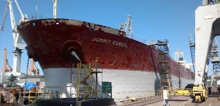 PANAMAX REPAIRS AT EPG SHIPYARD GDYNIA – 07/01/2013