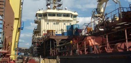 KLAIPEDA – WESTERN SHIPREPAIR YARD ( WSY ) – 2012-2013 – 02/05/2013